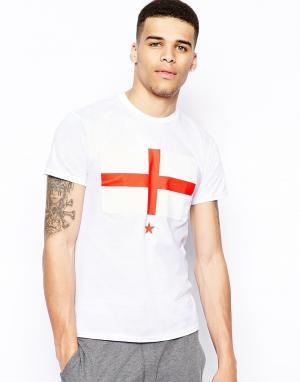 Born Idol Футболка с английским флагом