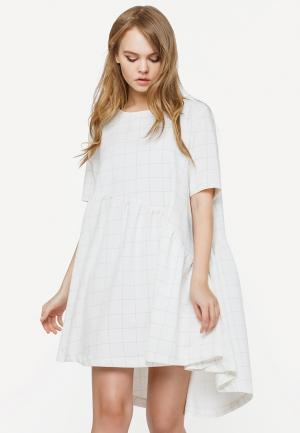 Платье GK Moscow. Цвет: серый
