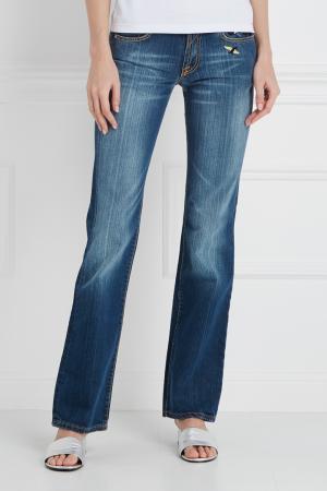 Расклешенные джинсы Jafleur Paul & Joe. Цвет: темно-синий