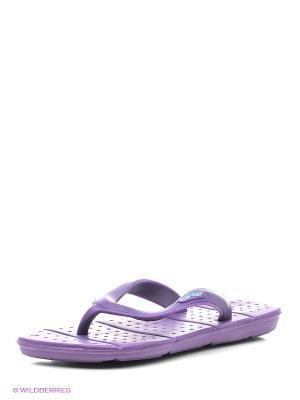 Шлепанцы Mon Ami. Цвет: фиолетовый