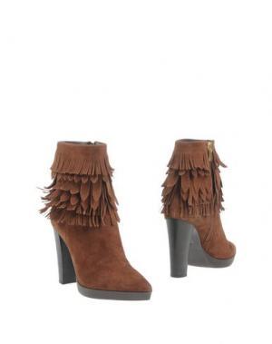 Полусапоги и высокие ботинки BRUNO PREMI. Цвет: какао