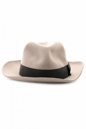 Шляпа Paul Smith. Цвет: бежевый