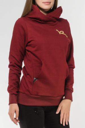 Толстовка Rocawear. Цвет: бордовый