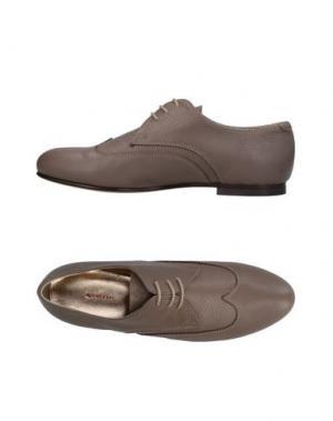 Обувь на шнурках ROSAMUNDA. Цвет: хаки