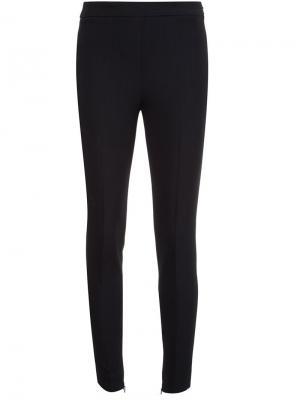 Узкие брюки Giambattista Valli. Цвет: чёрный
