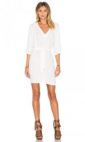 Платье magdalena American Vintage. Цвет: белый