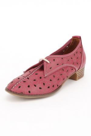 Туфли ENISSE. Цвет: розовый