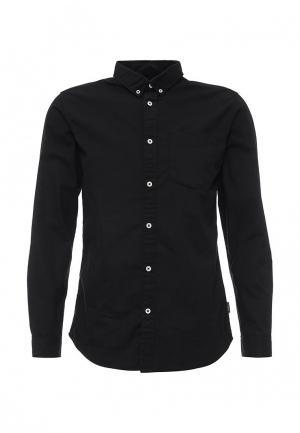 Рубашка Jack & Jones. Цвет: черный
