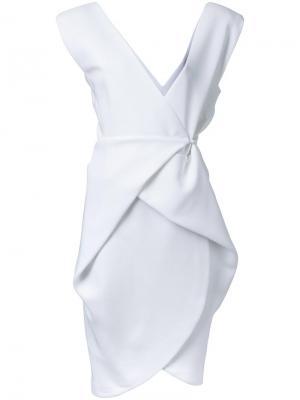 Облегающее платье Bianca Spender. Цвет: белый