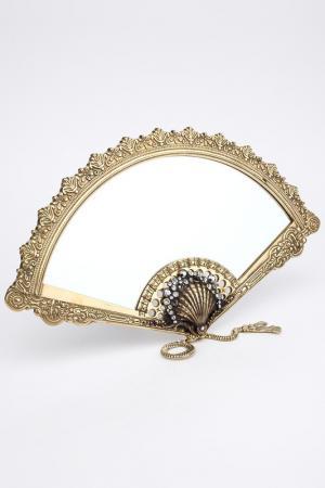 Зеркало I Pavoni. Цвет: золотой