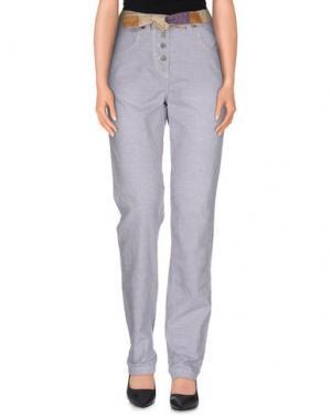 Повседневные брюки MAISON SCOTCH. Цвет: темно-синий