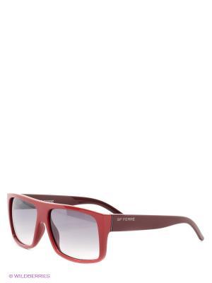 Солнцезащитные очки GF Ferre. Цвет: красный