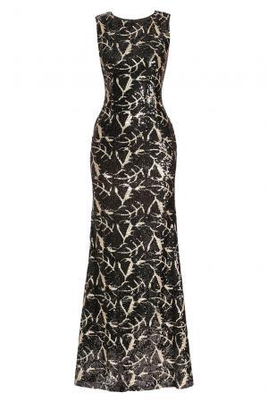 Платье из вискозы в пайетках 182597 Paola Morena. Цвет: разноцветный