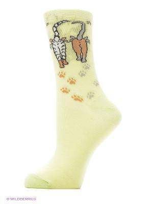 Носки женские М 3002 Грация. Цвет: салатовый