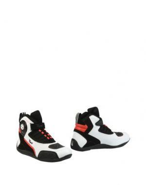 Полусапоги и высокие ботинки SPIDI. Цвет: белый
