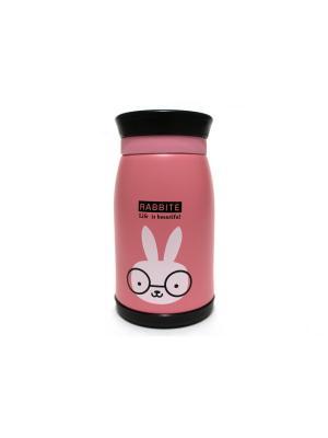 Термос Eleon. Цвет: розовый, черный