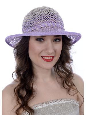 Шляпа Сиринга. Цвет: сиреневый, бежевый