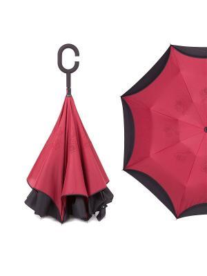Зонт Flioraj. Цвет: бордовый