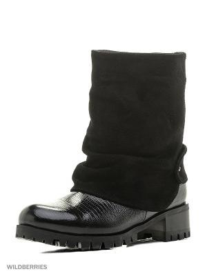 Ботинки ESTELLA. Цвет: черный