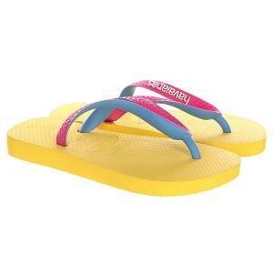 Вьетнамки  Top Mix Yellow Havaianas. Цвет: желтый