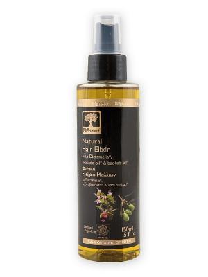 Природный (натуральный) элексир для волос BIOSelect. Цвет: бежевый