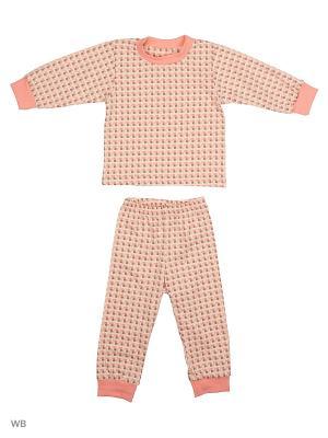 Пижама Ассорти Лео. Цвет: персиковый