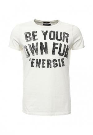 Футболка Energie. Цвет: белый