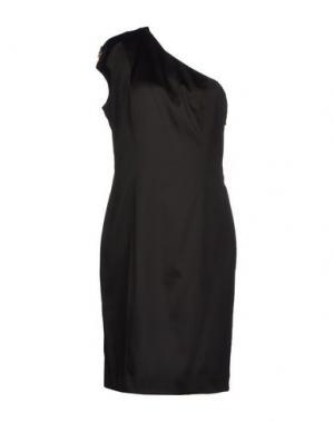 Платье до колена GOOD ON HEELS. Цвет: черный