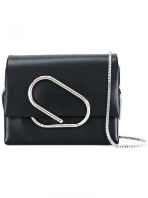 Микро сумка через плечо Alix 3.1 Phillip Lim. Цвет: чёрный