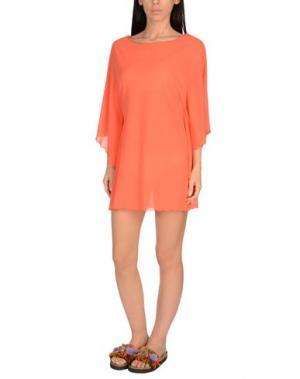 Пляжное платье FISICO. Цвет: оранжевый