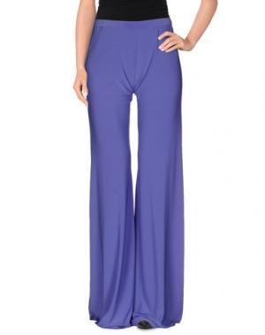 Повседневные брюки JOLIE CARLO PIGNATELLI. Цвет: фиолетовый