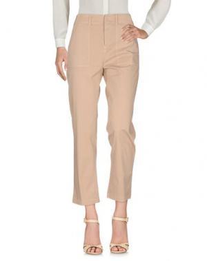 Повседневные брюки FAIRLY. Цвет: песочный