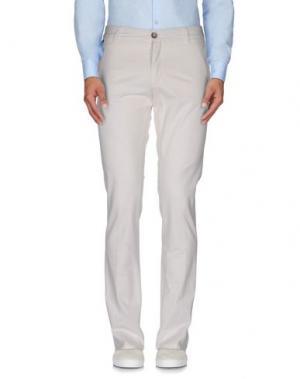 Повседневные брюки MANUEL RITZ WHITE. Цвет: слоновая кость