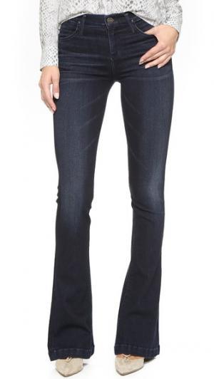 Расклешенные джинсы Stella со средней посадкой GOLDSIGN. Цвет: embrace