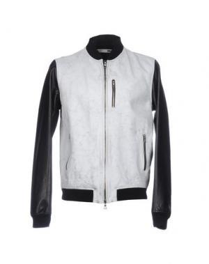 Куртка BULK. Цвет: светло-серый