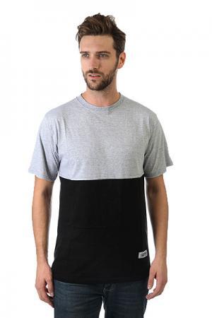 Футболка  324 Black/Grey Anteater. Цвет: серый,черный