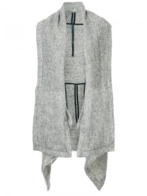 Oversized cape jacket Barbara I Gongini. Цвет: серый