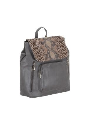 Рюкзак 5700 искусственная кожа Sofiya. Цвет: серый