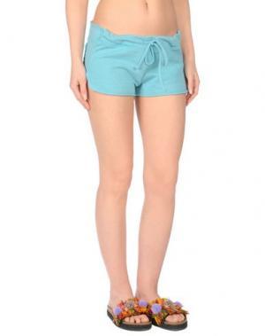 Пляжные брюки и шорты FAANJ. Цвет: бирюзовый