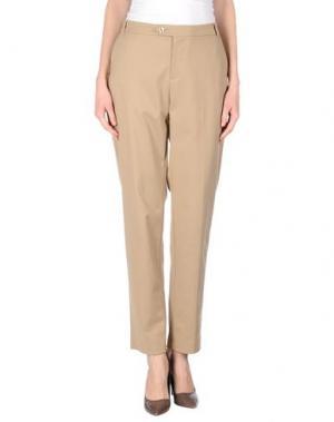 Повседневные брюки XANDRES. Цвет: песочный