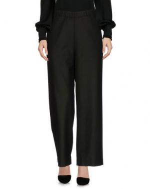 Повседневные брюки MALAICA. Цвет: темно-зеленый