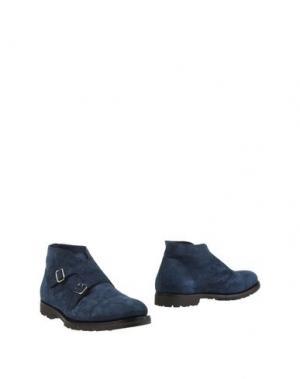Полусапоги и высокие ботинки ANDREA VENTURA FIRENZE. Цвет: синий