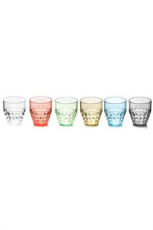 Набор Tiffany, 6 бокалов GUZZINI. Цвет: мультицвет