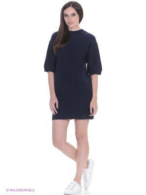 Пуловер CANTILENA Numph. Цвет: синий