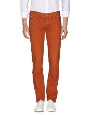 Джинсовые брюки CARE LABEL. Цвет: оранжевый