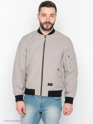 Куртка People. Цвет: светло-серый
