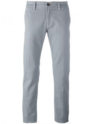Slim fit trousers Re-Hash. Цвет: серый
