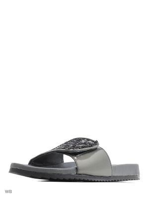 Тапочки S.OLIVER. Цвет: серый, серебристый