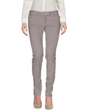 Повседневные брюки CLIÓ. Цвет: светло-коричневый
