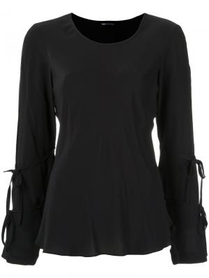 Silk blouse Uma | Raquel Davidowicz. Цвет: чёрный